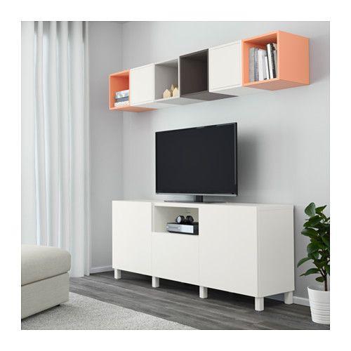 میز تلویزیون سفید